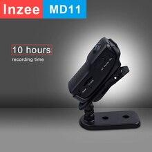 Md11 mini câmera mini camcorder dvr esporte vídeo cam ação dv voz de vídeo longo tempo de gravação 10 horas apoio 32gb