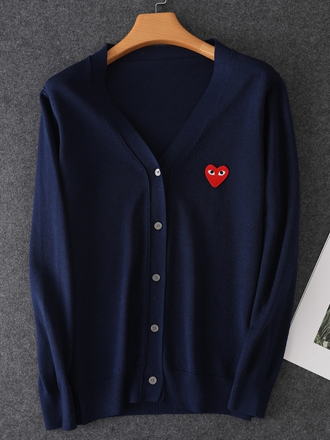 2020 Long Sleeve Lover Couple  Cashmere Cardigan loose  sweater Solid Women and Men Cashmere Sweater Knitting Cardigans 2