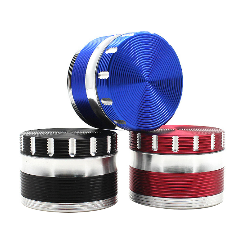 1PC Aluminum Alloy Color Matching Thread Grinder 63mm Four layer Metal Grinder Tobacco Grinder Smoking Accessories|Shisha Pipes & Accessories| |  - title=