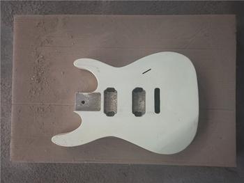 Afanti muzyka DIY gitara DIY gitara elektryczna ciała (MW-365) tanie i dobre opinie None Not sure Beginner Do profesjonalnych wykonań Unisex Nauka w domu CN (pochodzenie) Drewno z Brazylii Electric guitar body