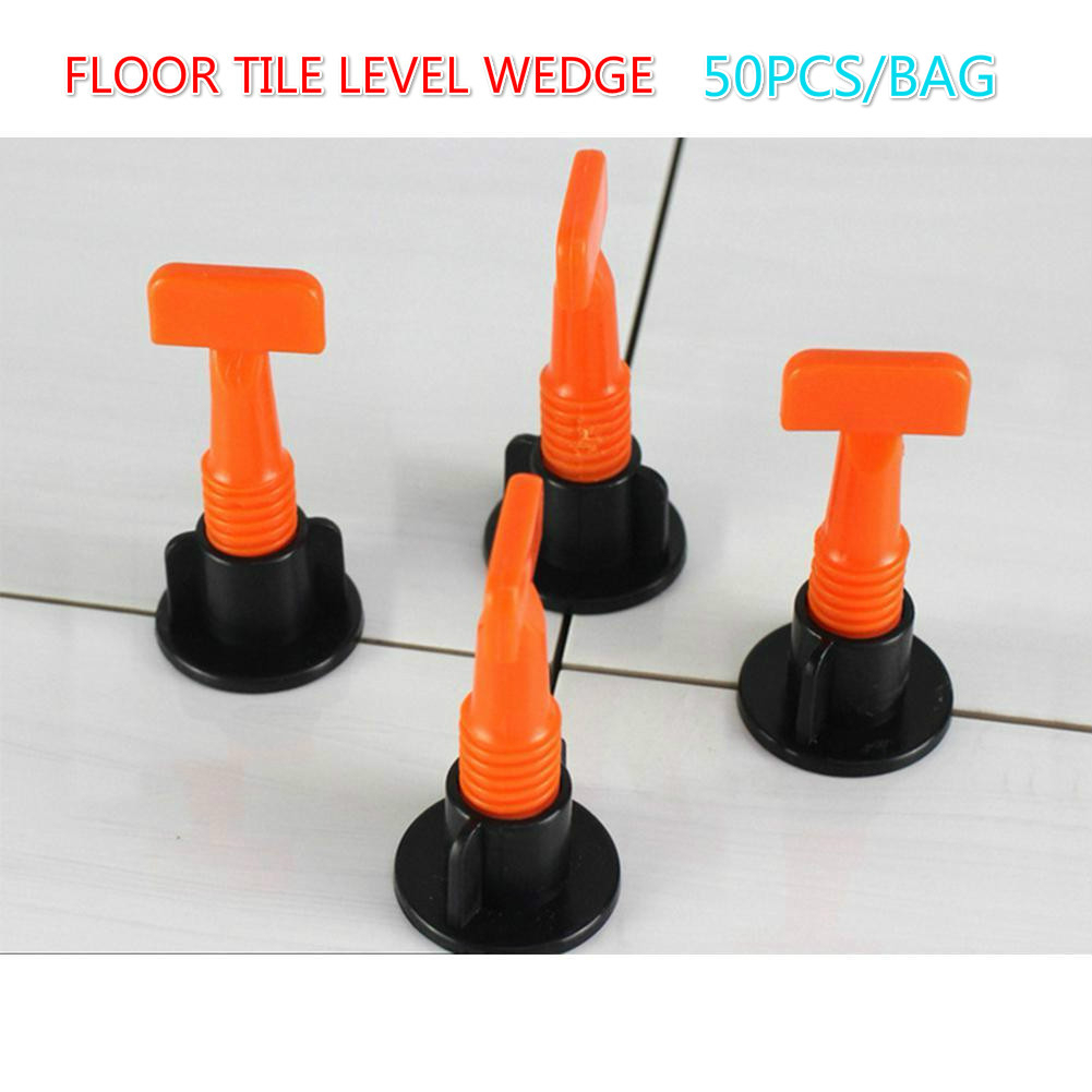 Adeeing New 50pcs/set Level Wedges Tile Spacers For Flooring Wall Tile Carrelage Leveling System Leveler Locator Spacers Plier