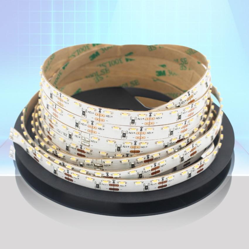 LED Strip SMD335 5mm Width DC 12V 600LED 5M  Side Emitting  Narrow PCB LED Tape Lights For Home TV Backlight Living Room Decorat