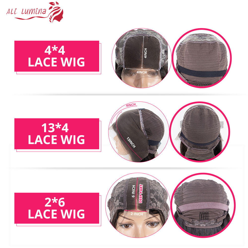 13x4 Lace Front  Wigs  Body Wave Lace Wigs 4x4 2X6 Lace Closure Wigs Pre Plucked With Baby Hair 5