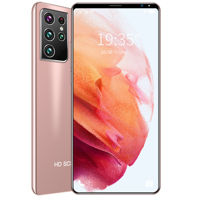 Celular Baytech Galaxy 21 Ultra, Tela 5.5, 5G LTE, Dual sim, Desbloqueio por digital ou facial, 128Gb, Black 6