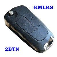 Para opel antara ampera uncut substituição chave dobrável carro de controle remoto chave em branco para chevrolet epica 2 3 botão escudo fob