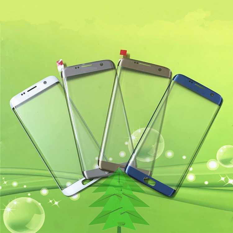 S6Edge Outer Screen For <font><b>Samsung</b></font> <font><b>Galaxy</b></font> <font><b>S6</b></font> Edge Front Touch Panel LCD Display Out <font><b>Glass</b></font> Cover Lens Phone Repair <font><b>Replace</b></font> Parts image