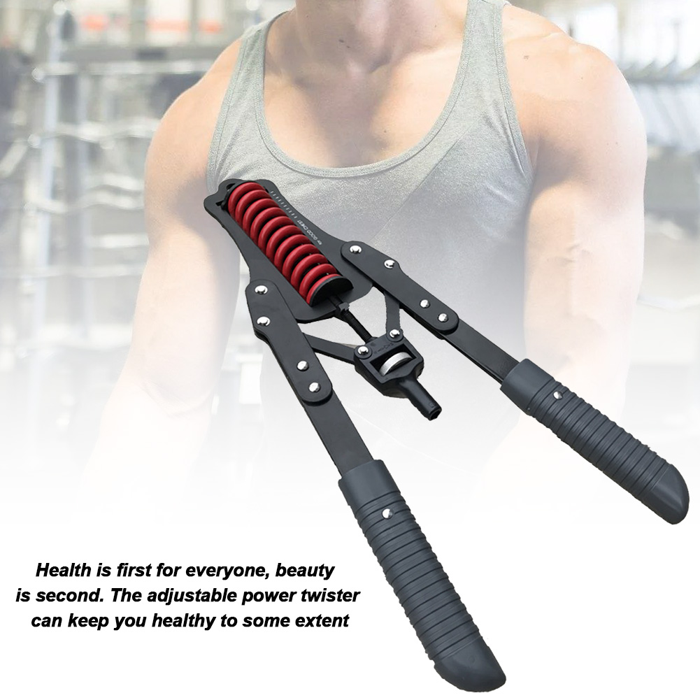 Power Twister Adjustable Power Twister Arm Forearm Exerciser Chest Expander Arm Chest Muscle Training For Man Household Use
