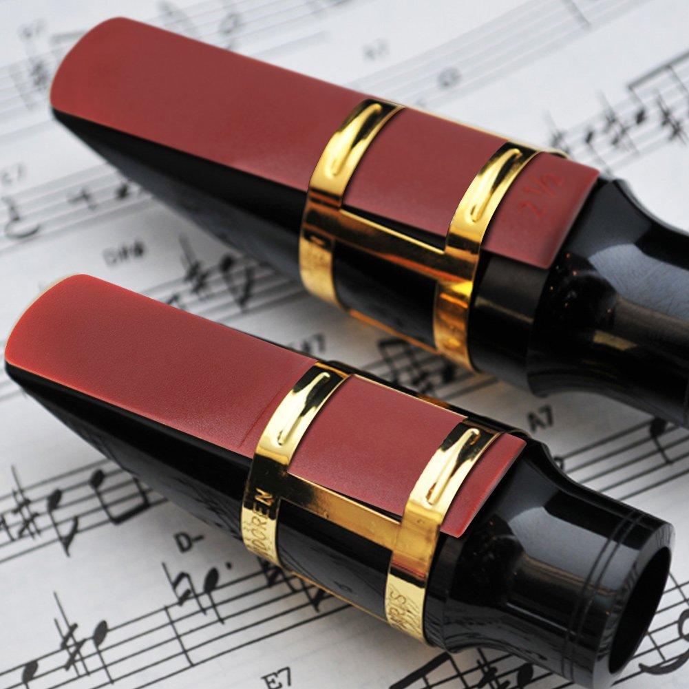 SLADE 2.5 Strength Alto Saxophone Reeds Resin 2-1/2 Alto Sax Saxophone Reeds Woodwind Instrument Musical Accessories