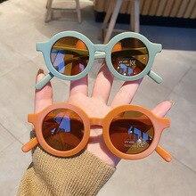 Kids Sunglasses Matte Eyewear Goggle Shades Oculos-De-Sol Travel UV400 Outdoors Girls