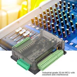 Image 2 - PLC programmable logic controller FX3U 24MT PLC industrial control board 6 Analog Input 32bit MCU 14 Input 10 Transistor Output