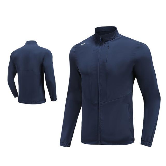 PGM Men Golf Clothes Waterproof Thin Coat Windbreaker Vest Autumn Zipper Long Sleeve Jacket Male SportsWear Keep Warm Apparel 3