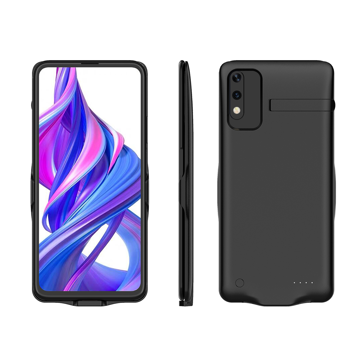 For Huawei Honor 9X Honor 9X Pro Battery Charger Case 6500mAh Extend Backup Charging Powerbank Cover For Honor 9X Case Kickstand