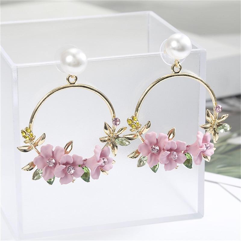 Новый дизайн, лидер продаж, модные ювелирные изделия, простые серьги-гвоздики с кристаллами, милые серьги для женщин