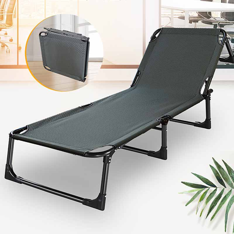 Folding Beds Recliners Lunch Break Beds Leisure Chairs Cool Sheets People Marching In Summer Office Slackers