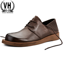 Genuine Leather Mens shoes breathable business casual shoes male British retro youth fashion luxury shoes men designer shoes spring and autumn summer men s shoes british retro genuine leather shoes men youth breathable sneaker fashion casual shoes male