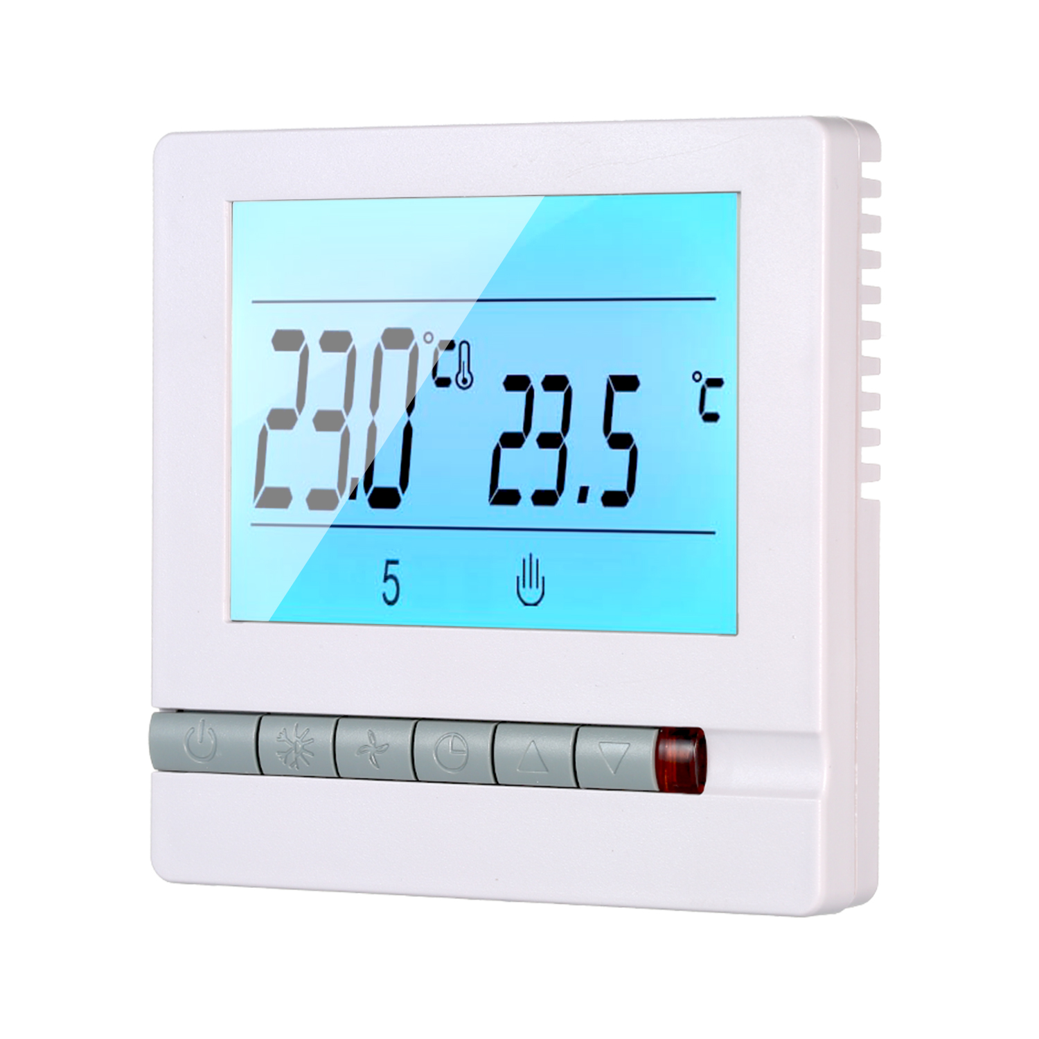 Digital Thermostat 220V AC Temperature Controller Weekly Programmable Heating Room Temperature Control 5 To 60 Degrees Celsius