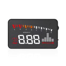 Car Auto Practical Display Electronic HUD Windshield Projector Car Display Car HUD Projector Black Durable(China)