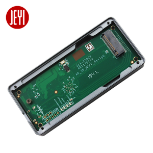 JEYI thunderbolt 3 m. 2 nvme Корпус для мобильного телефона чехол NVME для TYPE-C алюминиевый тип C3.1 m. 2 USB3.1 M.2 PCIE U.2 SSD LEIDIAN-3
