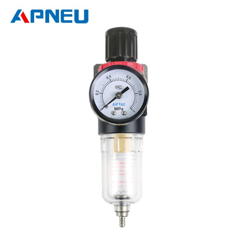 AFR-2000 Pneumatische Filter Air Behandeling Unit Druk Regulator Compressor Reduceerventiel Olie Water drukregelaar