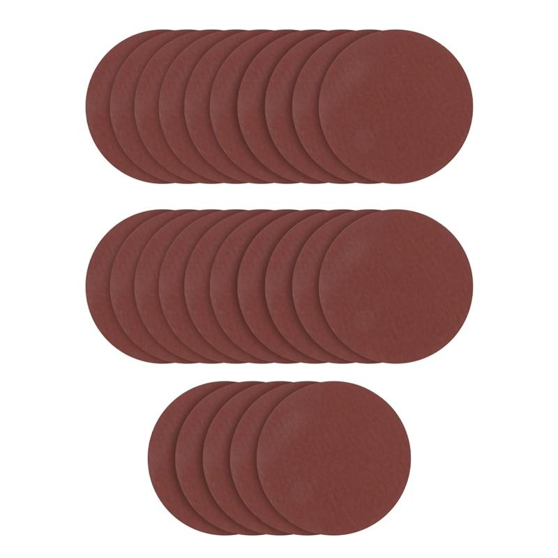 25PCS 5 Inch Round Sanding Disc Sander Sandpaper 800/1000/1500/2000/3000 Grit