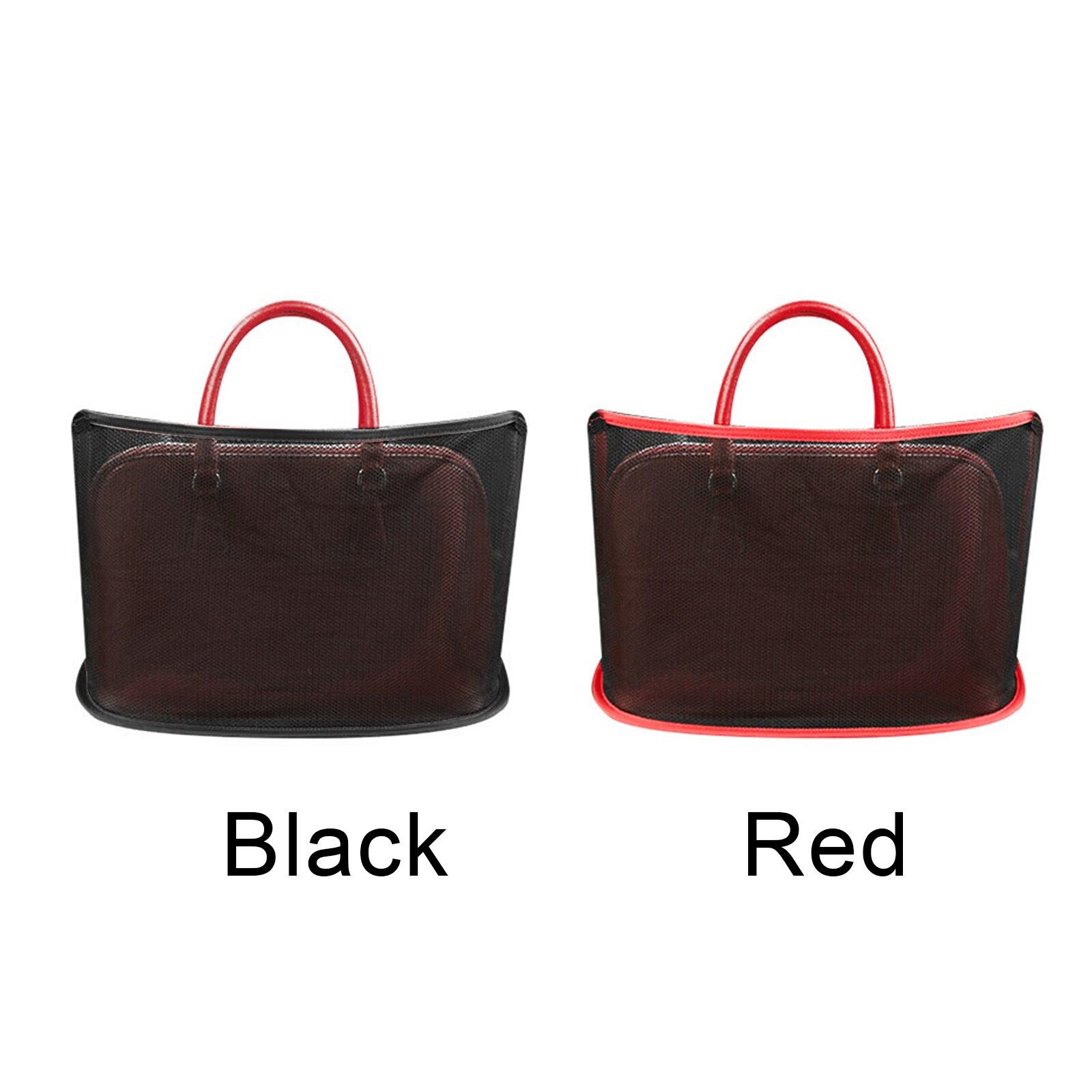 Car Net Pocket Handbag Holder for Handbag Bag Documents Phone Valuable Items SER88