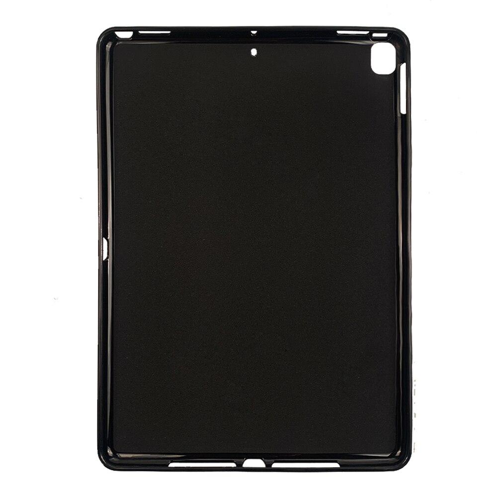 QIJUN силиконовый умный чехол для планшета для Apple ipad 10,2 дюймов 2019 ipad 7 th Gen A2200 A2198 A2232 противоударный бампер чехол