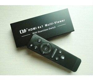 Image 2 - 1080P 4x1 HDMI רב הצופה HDMI Quad מסך רב בזמן אמת הצופה HDMI ספליטר חלקה switcher עם IR בקרה