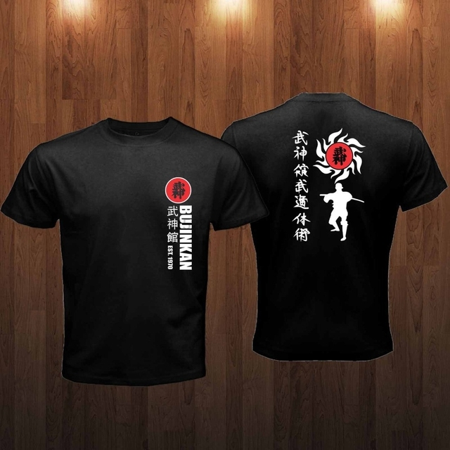 Camiseta Bujinkan ninjutsu varias cores