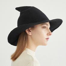Панама женская складная шляпа Боб рыбаки защита от солнца шерстяная