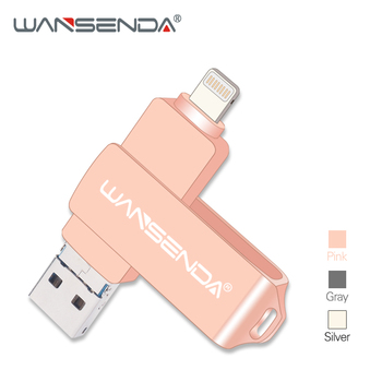 Neue WANSENDA Usb 3.0 OTG Usb-Stick Pen Drive 8GB 16GB 32GB 64GB 128GB Stick 3 in 1 Micro Usb Stick Flash Disk