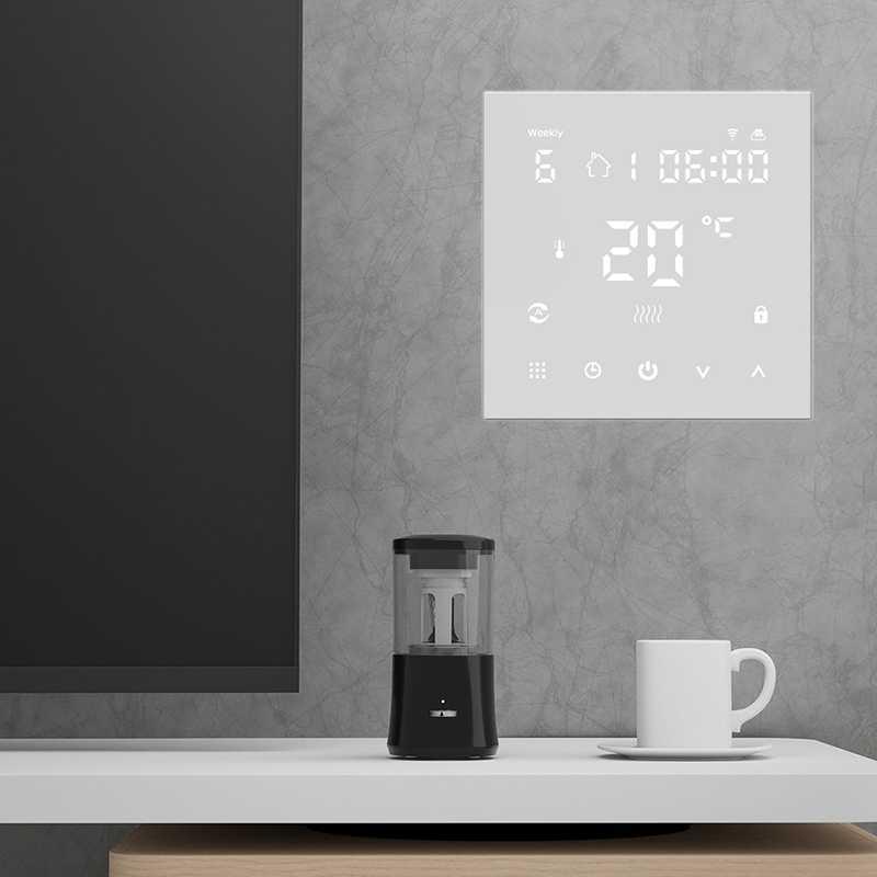 WiFi akıllı termostat sıcaklık kumandası elektrikli yerden ısıtma sistemi termostat dijital yerden elektrikli ısıtma akıllı