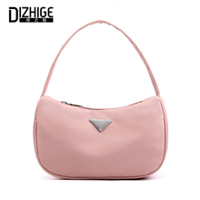 DIZHIGE Brand Luxury Solid Waterproof Nylon Women Bags Soft High Quality Handbags For Multi-pocket Zipper Tote Female New