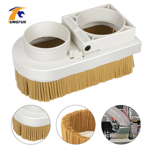 Image 2 - Cnc Dust Brush Dust Collector 65 100mm Diameter Vaccumn Cleaner Easy Clearing For CNC Engraving Machine Milling Machine