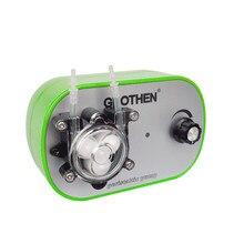 Регулируемый перистальтический насос объем регулируемый, высокая точность, небольшой перистальтический насос, насос для перекачки жидкостей GROTHEN 10 мл/мин. до 160 мл/мин