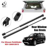 PMFC Rear Window Glass Gas Struts 2PCS Lift Support Bar For Nissan Pathfinder R51 2005-2013 90460Zl90A