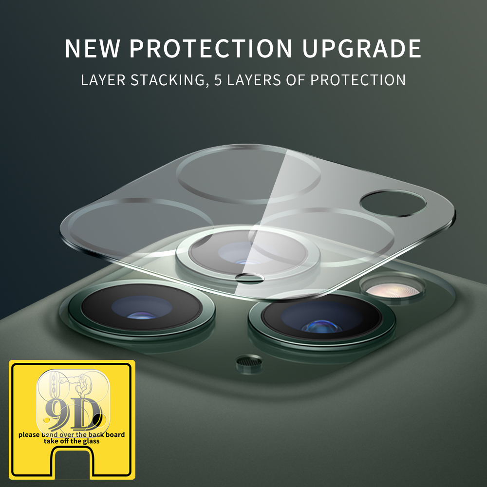 Full Cover Camera Lens Glass For iPhone 11 Pro Max Screen Protector Tempered Glass For title=