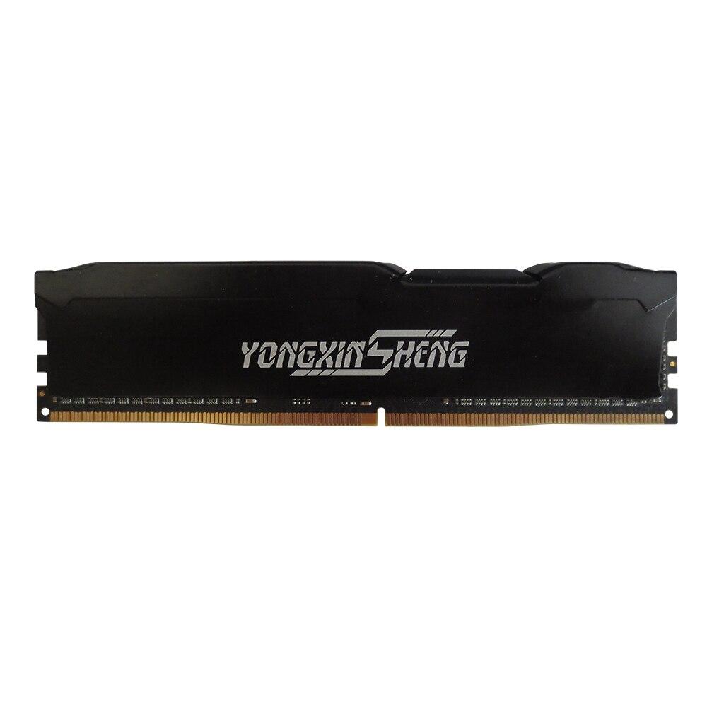 Yongxinsheng 4GB 8GB 16GB DDR4 RAM Stick 2133 2400 2666vMHz 288 PIN Intel Desktop Memory RAM PC4-17000 19200 21300 16banks-3