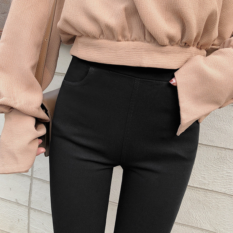 Fashion Women Pants 2019 New Leggings Women Sexy Black Pencil Pants Stretch Workout Slim Trousers
