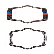 For BMW 3 Series E90 E92 E93 2005 2006 2007 2008 2009 2010 2011 2012 Carbon Fiber Headlight Switch Frame Cover Sticker Trim недорого