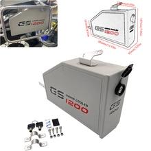 2020 novo para bmw r1200gs r1250gs lc adv lado esquerdo caixa de ferramentas caso suporte à prova dwaterproof água alumínio durável gsa 1200 1250 lc aventura