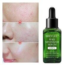 Breylee encolher poros soro poro aperta refinação essência hidratante branqueamento anti-envelhecimento controle de óleo essência facial cuidados com a pele