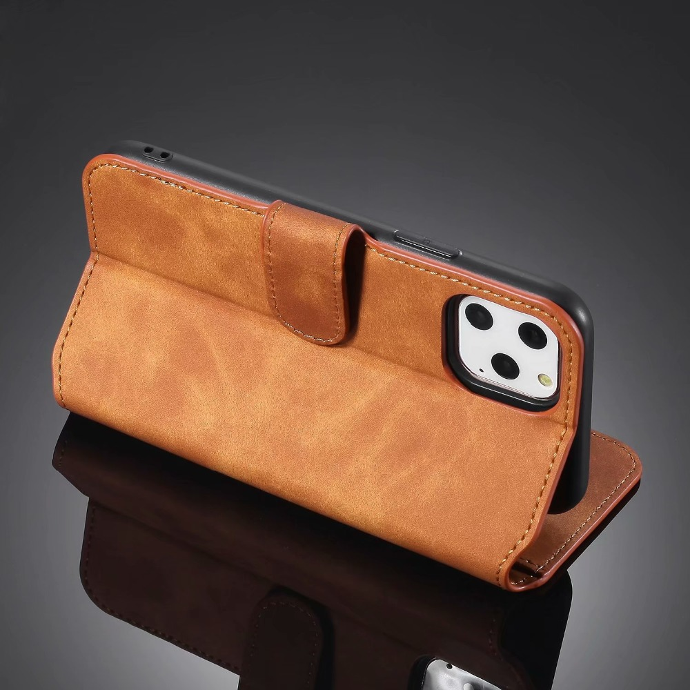 Premium Leather Flip Wallet Case for iPhone 11/11 Pro/11 Pro Max 37