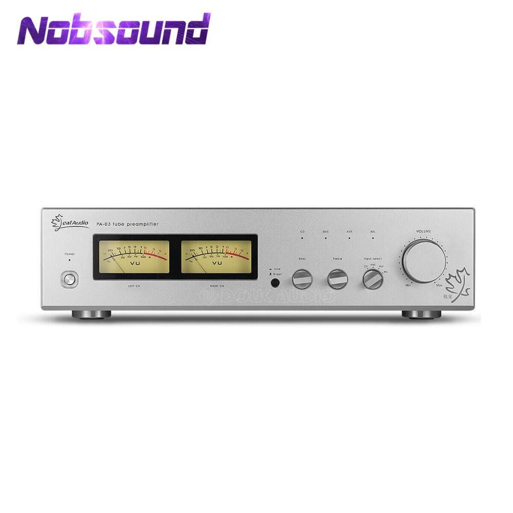 Nobsound Hi-Fi Class A 6N11 Vacuum Tube Preamplifier Single-ended XLR Balanced ARC LS22