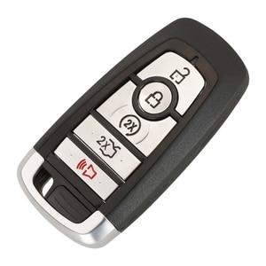 Image 2 - jingyuqin Car Key Case For Ford Ranger Fusion Mustang Raptor Explorer F 150 F250 F 350 4/5BTN Remote Key Cover Fob Shell Housing