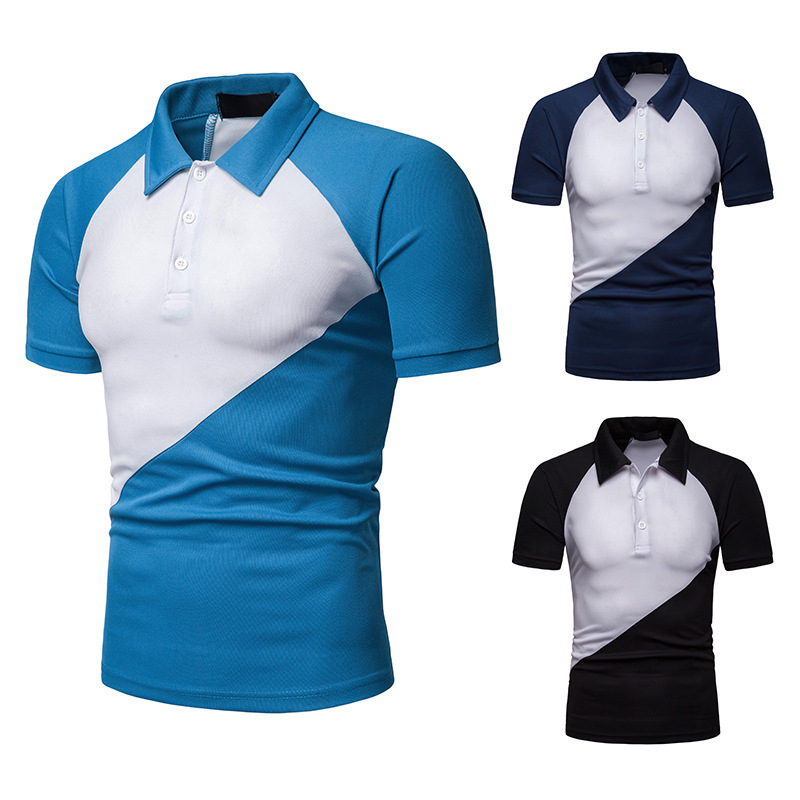 Polo Shirt Men Short Sleeve Casual Mens Clothing  Polo  T Shirt