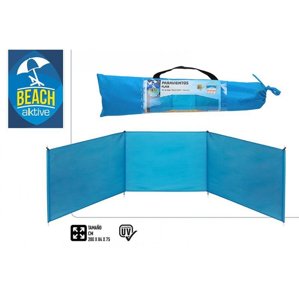 Folding Beach paravients 200x75 cm-aluminium