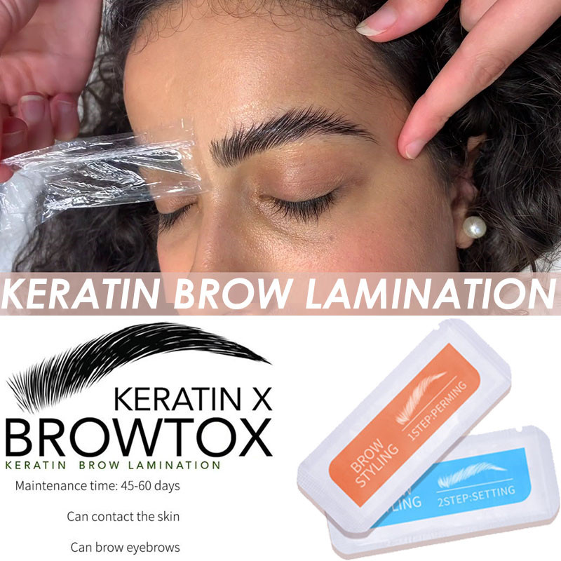 Eyelash&Brow Lamination Kit Safe Brow Lift Eyebrow Lifting Protable Travel Kit Eyebrow Professional Beauty Salon Brow Lamination