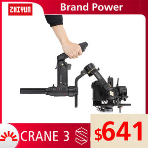 ZHIYUN 3-Axis Handheld Stabilizer Gimbal Dslr-Camera Official-Crane Payload for New-Arrival