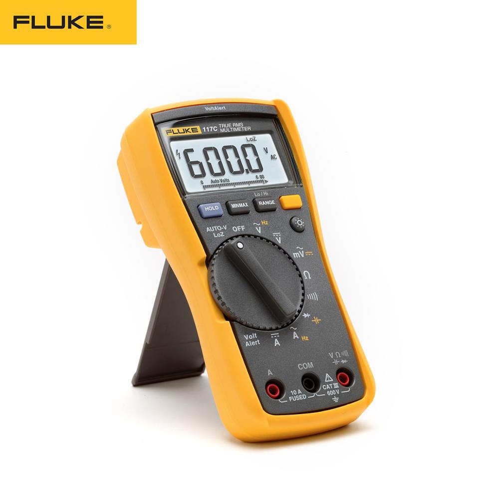 fluke 117 true rms multimeter price