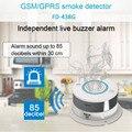Приложение контроль дыма Senser беспроводной GSM сигнализация домашняя охранная система детектор дыма и тепла (без Wi-Fi)